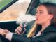 vaping cbd car